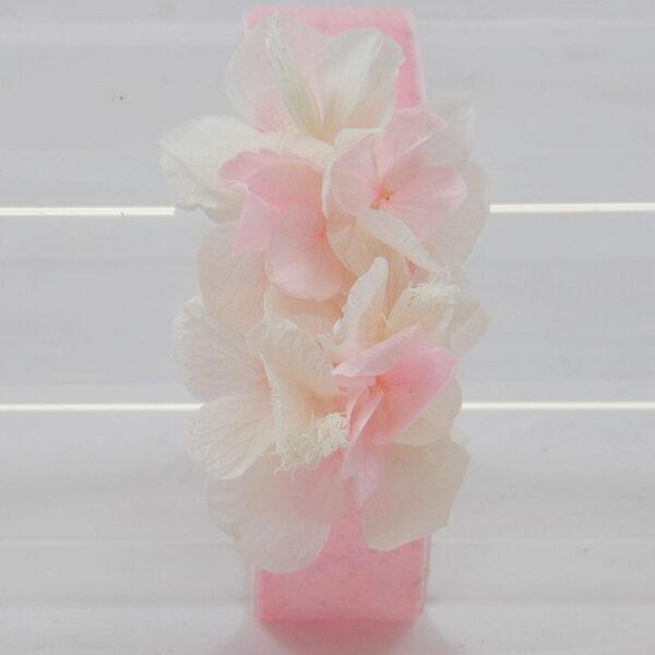 bracelete de flores preservadas
