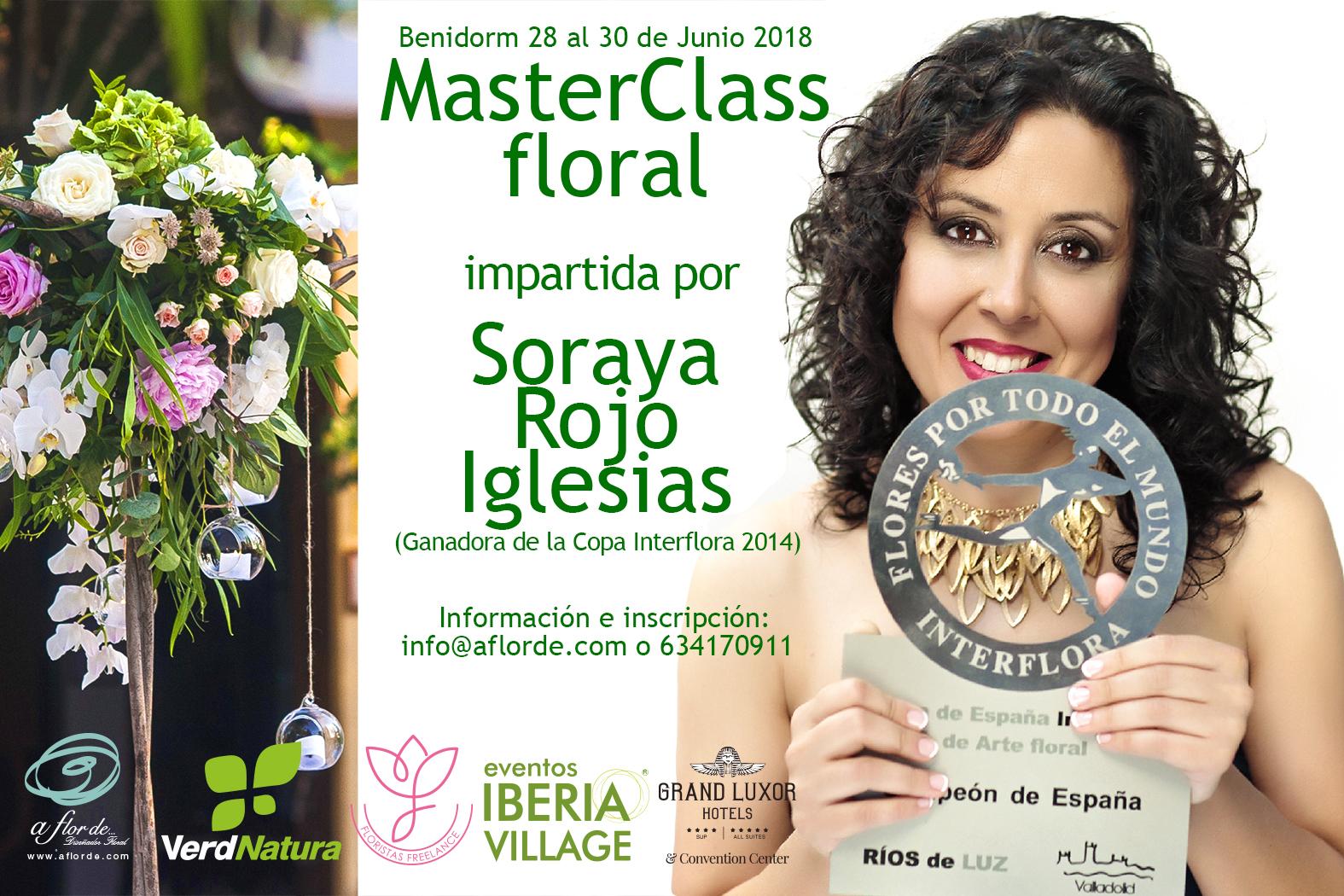 MasterClass Floral Soraya Rojo Iglesias