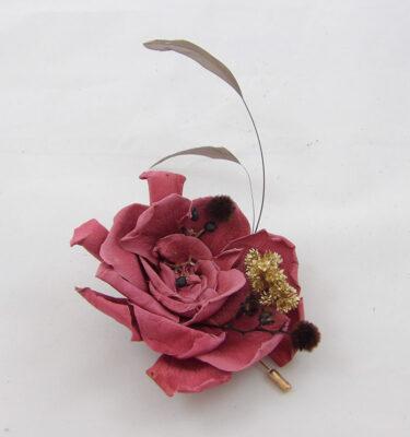 prendido gotico de flor preservada